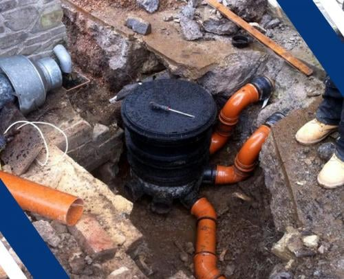 Emergency Drainage Solutions   Harpenden   St Albans   London Colney   Origin Drainage and Plumbing   Drain Blockages   Drainage damage repair
