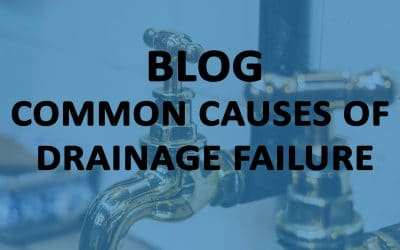 Common causes of drainage failure
